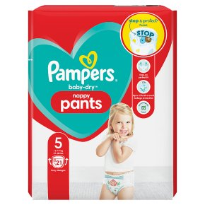 Pampers Baby-Dry Pants 12-17kg Size 5