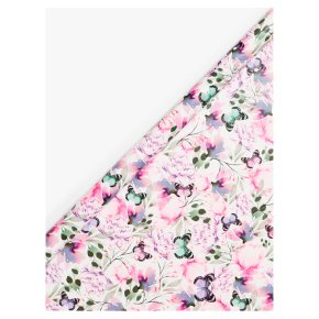 John Lewis Floral Butterfly Roll Wrap