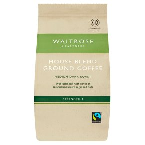 Waitrose House Blend Ground Coffee