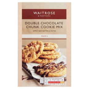 Waitrose Double Choc Chunk Cookie Mix