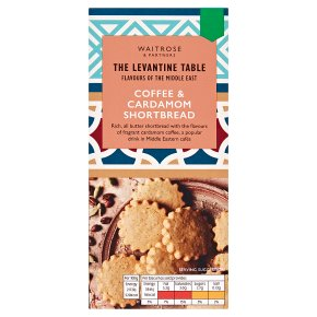 Levantine Table Coffee & Cardamom Shortbread