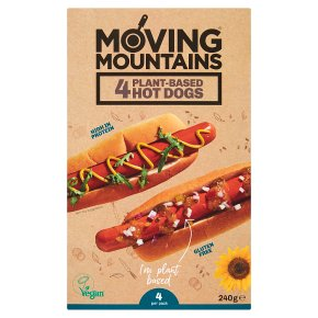 Moving Mountains Plant-Based Hot Dogs