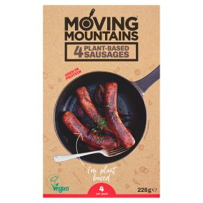 Moving Mountains 4 Plant-Based Sausages