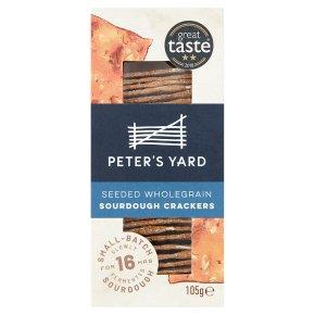 Peter's Yard Seeded Wholegrain Sourdough Crackers