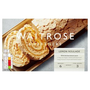 Waitrose Lemon Meringue Roulade