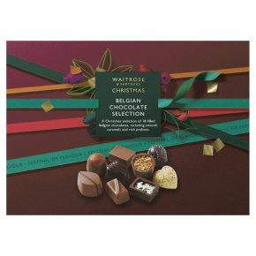 Waitrose Christmas Belgium Chocolate Selection