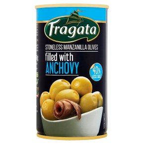 Fragata Olives Filled with Anchovy