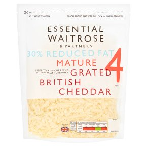 Essential 30% Reduced Fat Mature Grated Cheddar S4