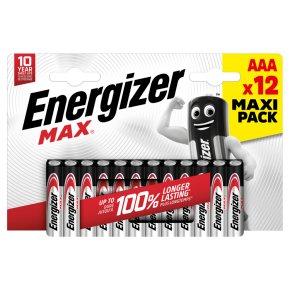 Energizer Max AAA 1.5v