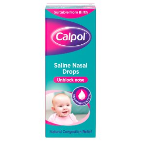 Calpol Saline Nasal Drops