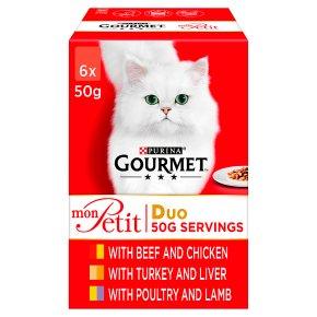 Gourmet Mon Petit Duo Meat & Poultry