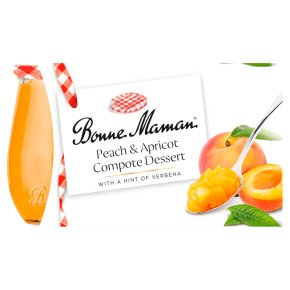 Bonne Maman Peach & Apricot Compote Dessert