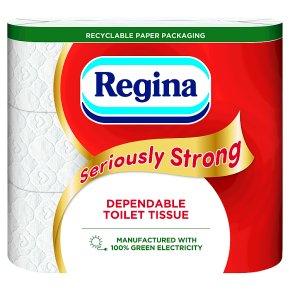 Regina Seriously Strong Toilet Tissue