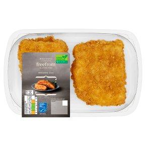 Waitrose Gluten Free Breaded Chunky Cod