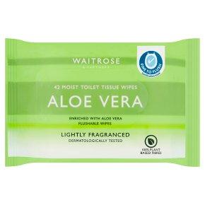 Waitrose Moist Toilet Tissue Refill Lightly Fragranced