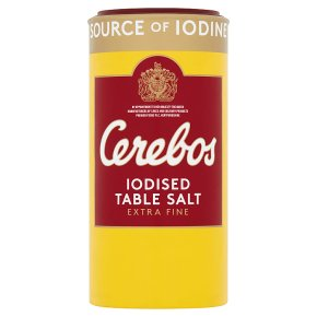 Cerebos iodised table salt