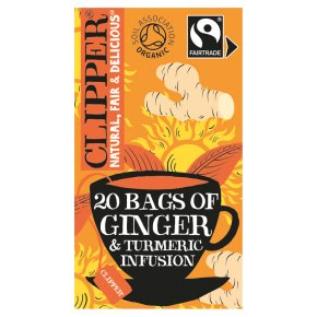 Clipper Organic Ginger & Turmeric 20 Infusion Bags