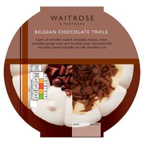 Waitrose Belgian Chocolate Trifle