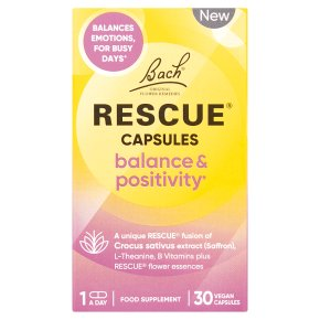 Rescue Balance & Positivity Capsules