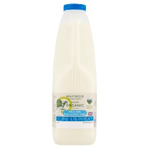 Waitrose Duchy Organic Whole Milk