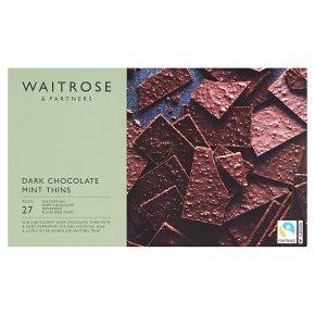 Waitrose Mint Thins