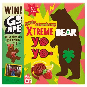 BEAR Yo Yos Super Sour Strawberry & Apple