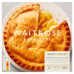 Waitrose Bramley apple Pie