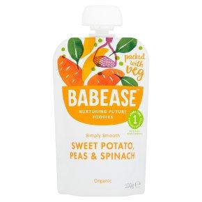 Babease Sweet Potato Peas & Spinach