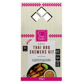 Thai Taste BBQ Skewers Kit