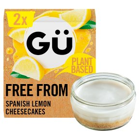 Gü Free From Spanish Lemon Cheesecakes