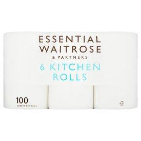 Waitrose Essentials Kitchen Rolls