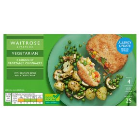 Waitrose Frozen 4 Vegetable Cripsbakes