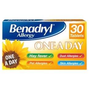 Benadryl One A Day Tablets