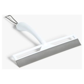 John Lewis Shower Squeegee, Grey/White