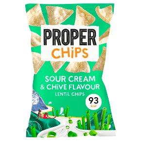Properchips Lentil Chips Sour Cream