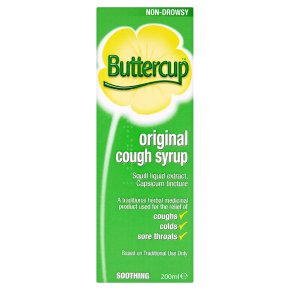 Buttercup Cough Syrup