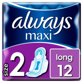 Always Maxi Long with Wings