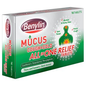 Benylin Mucus Cough & Cold Tablets