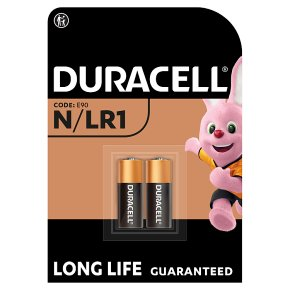 Duracell Alkaline N/LR1