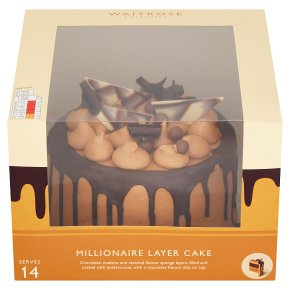 Waitrose Millionaire Layer Cake