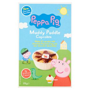 Peppa Pig Muddy Puddle Cupcake Kit