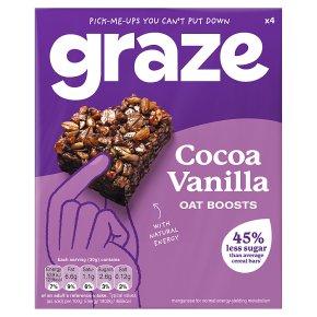 Graze Cocoa Vanilla Oat Boosts