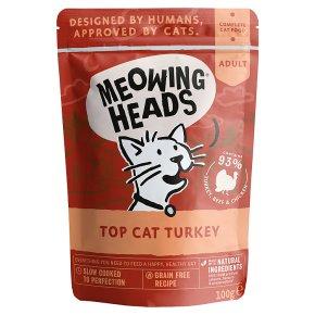 Meowing Heads Turkey