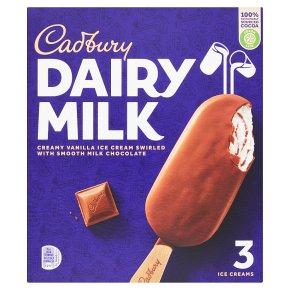 Cadbury Dairy Milk Luxury Ice Creams