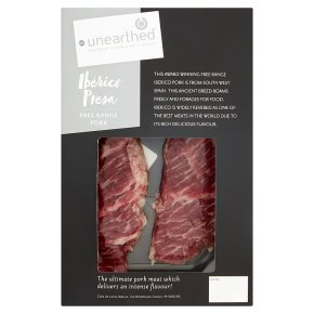 Unearthed Iberico Presa Free Range Pork