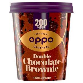 Oppo Double Chocolate Brownie Ice Cream