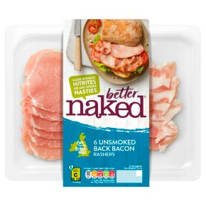 Finnebrogue Naked Unsmoked Back Bacon