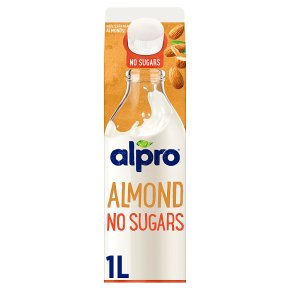 Alpro Almond No Sugars Roasted Chilled Drink