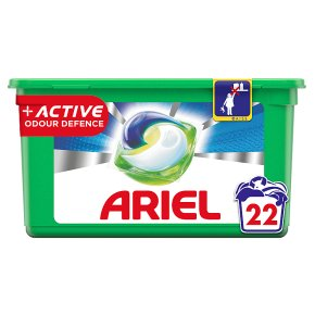 Ariel Pods Active 22 washes