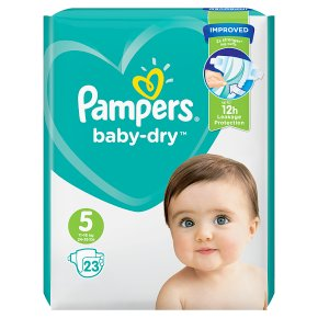 Pampers Baby-Dry 11-16kg Size 5